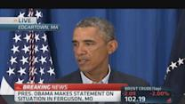 Obama: It's time for transparency in Ferguson