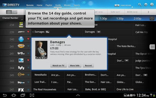 DirecTV to expand out-of-home live TV streaming, Android tablet support