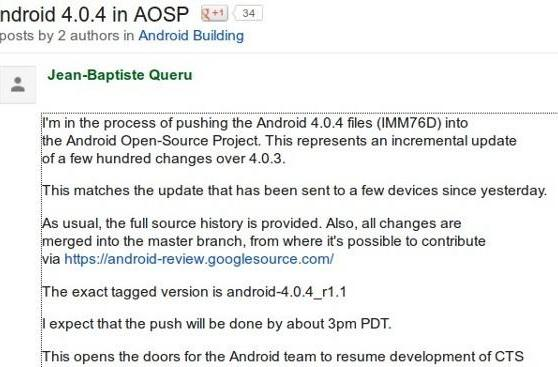 Android 4.0.4 rears its head again, this time over at AOSP