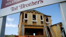 Homebuilder Toll Brothers beats on profit, sector worries weigh