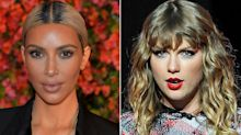 Kim Kardashian Posts Snap of Kanye's 'Famous' Exhibit Showing Nude 'Taylor Swift' and Fans Are Mad