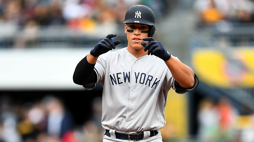 Aaron Judge's debut jersey sells for record price at auction