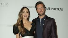 Armie Hammer jokes around with wife Elizabeth Chambers on red carpet at Final Portrait screening