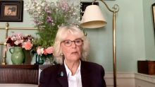 Duchess of Cornwall says 'silence is corrosive' as she encourages domestic abuse victims to speak out
