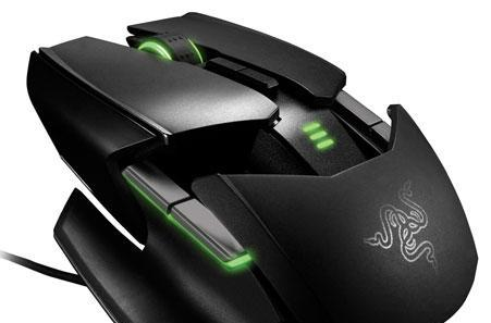 Razer Ouroboros gaming mouse gets official: fits both hands, changes shape