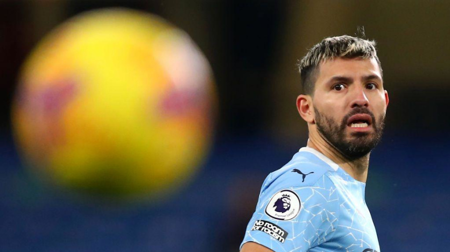 Sergio Aguero tests positive for COVID-19