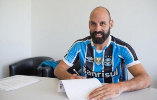 Bruno Rodrigo é oficializado como reforço do Grêmio