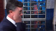 Colbert Has A 1-Finger Salute For Trump Official Overseeing Child Detentions