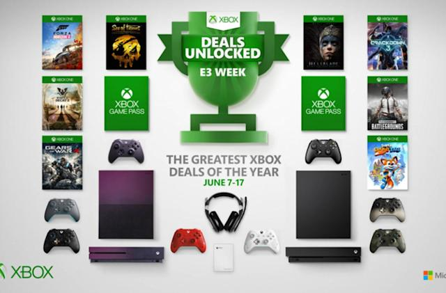 Xbox One X is $100 off during Microsoft's E3 sale