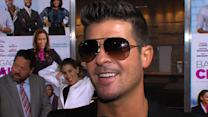 Robin Thicke: Miley Cyrus Is A 'Wonderful Girl' And 'An Entertainer'