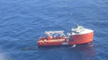 Hibernia remains shut down as support vessels clean up oil spill