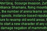 Forum Post of the Day: WoW is ruined (again!)
