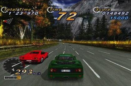 OutRun Online Arcade an XBLA exclusive in North America