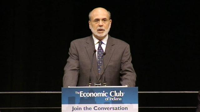 Bernanke: Eurozone troubles slowing U.S. trade