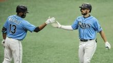 Perez has RBI single in 9th, Rays rally to beat Yankees 4-3