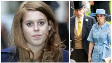 Princess Beatrice 'hasn't stopped crying' over Prince Andrew scandal