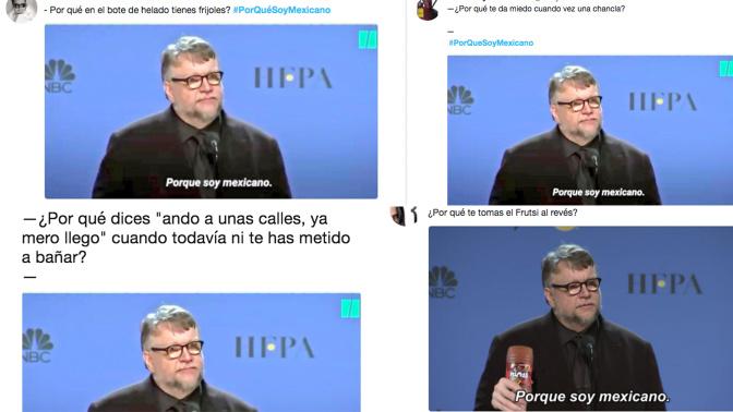 """""""Porque soy mexicano"""", la frase que lo explica todo"""