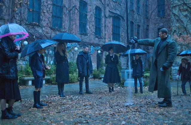 Netflix superhero show 'The Umbrella Academy' debuts February 15th