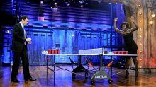 Serena Williams the royal wedding's beer pong champion