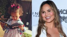 Chrissy Teigen And Daughter Luna Had A Rough First Week At Preschool