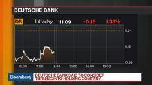 Deutsche Bank Said to Mull Split of Units