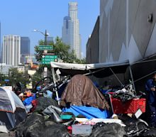 Blaming shelters and street sleeping, Donald Trump blasts California for homeless crisis