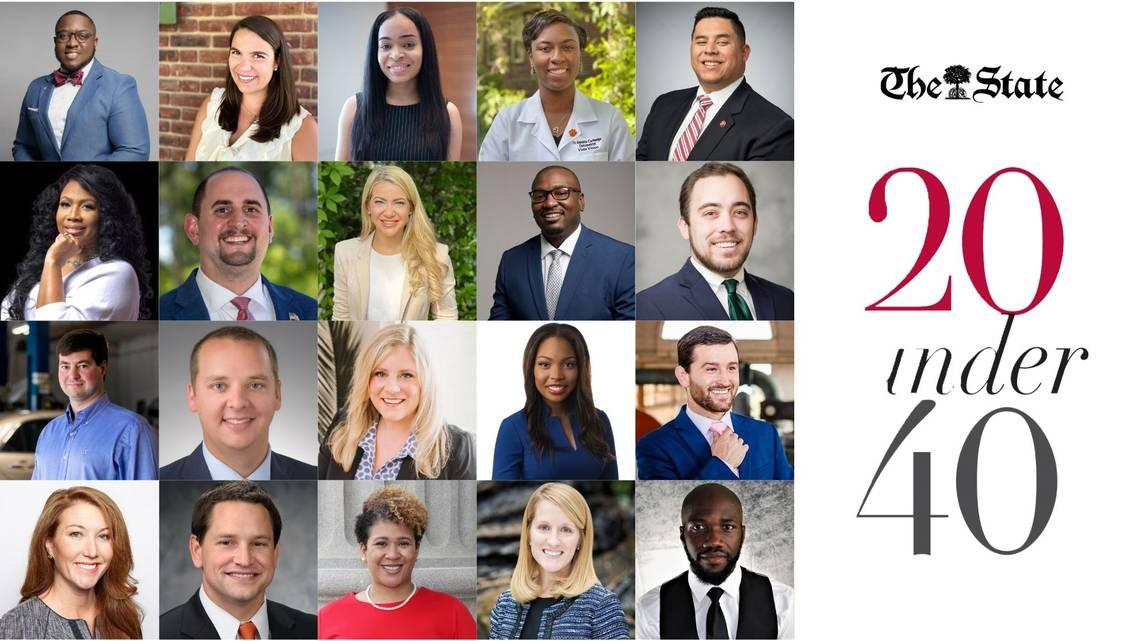 They're united in their commitment to serve. Here's The State's 20 under 40 winners