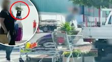 Shoppers pictured buying garden supplies amid lockdown confusion