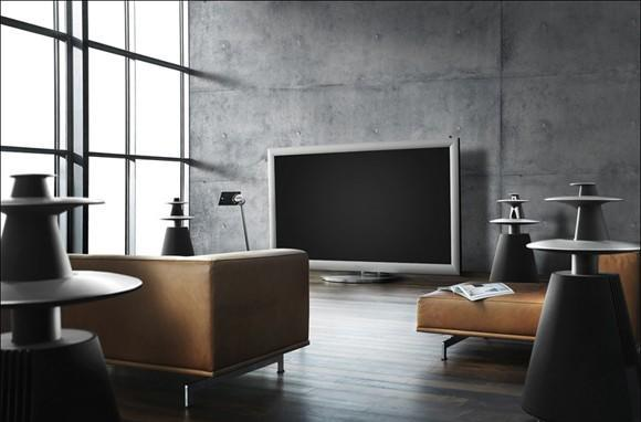 Bang & Olufsen's 103-inch BeoVision 4-103 plasma is gorgeous, pricey