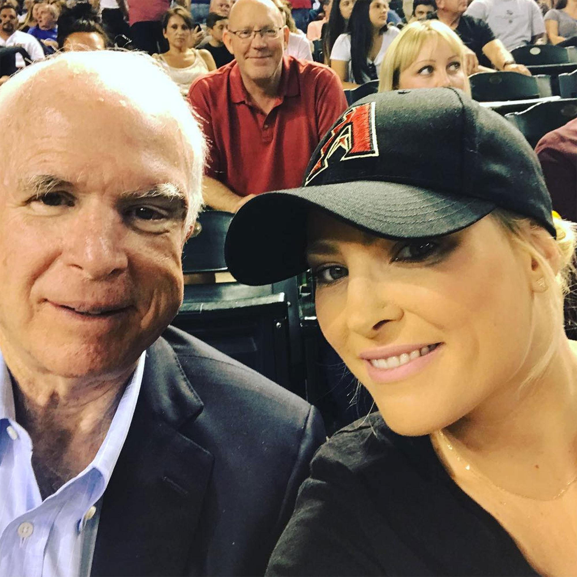 Meghan McCain Reveals Dad John McCain Is Returning Home To