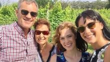 Jessica Falkholt's family laid to rest as Home And Away actress remains in critical condition