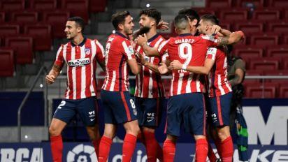 Atlético de Madrid vence Real Sociedad (2-1) e fica mais perto do título do Espanhol