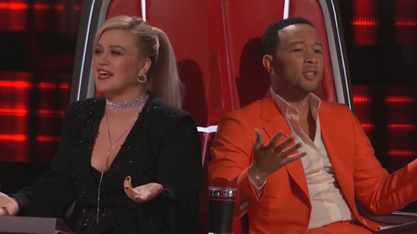 Kelly Clarkson and John Legend called 'unpatriotic' 'haters' for