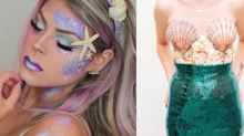 You Only Need a Few Items to Assemble These Unique DIY Mermaid Costumes