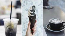 每日IG - 打卡網紅黑cafe 吃黑白雪糕、黑latte、黑lemonade