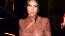 "Kim Kardashian Posts Her ""Psoriasis Face"" — & How She's Treating It"