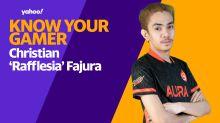 Know Your Gamer: Christian 'Rafflesia' Fajura