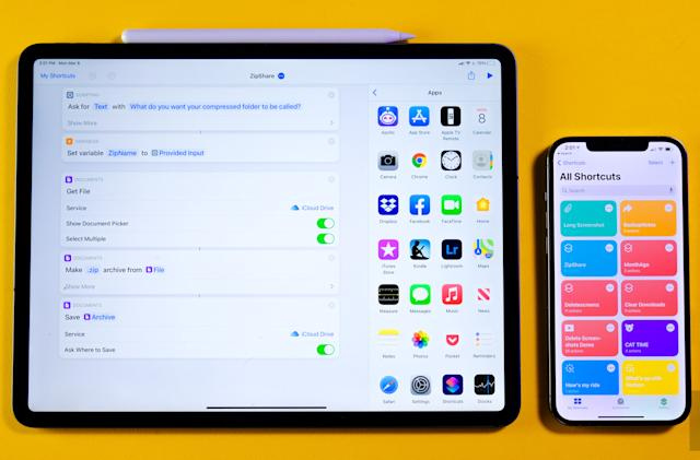 These Shortcuts can help you clean out your iPhone or iPad
