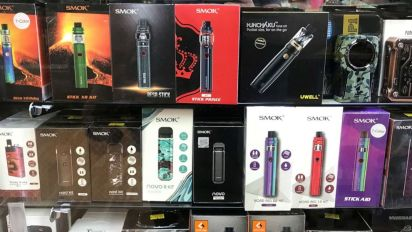 N.Y. becomes 1st state to ban flavored e-cigarettes