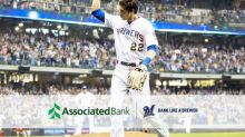 Milwaukee Brewers' Christian Yelich joins the Associated Bank team