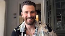 Chris Evans Gives a Rare Glimpse of His Chest Tattoos — and the Internet Is Crushing Hard