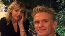 Miley Cyrus shared a picture of Cody's head in her crotch to mark his birthday