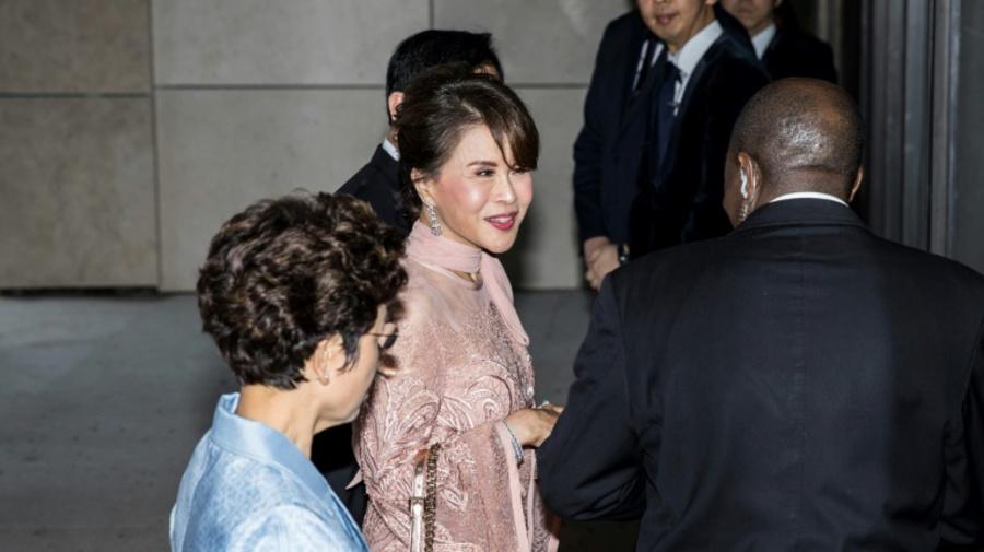 Thai princess who stood for PM attends Shinawatra Hong Kong wedding