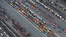 EU trade surplus with U.S. expands, deficit with China larger
