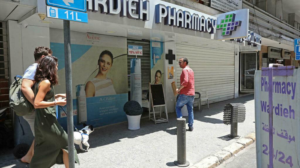 Pharmacies go on strike in crisis-hit Lebanon over medicine shortages