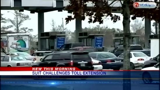Suit challenges CCC tolls extension