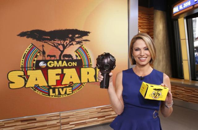 ABC's 'Good Morning America' takes you on a live VR safari