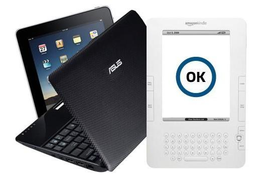 TSA: Netbooks, e-readers and iPads can be kept inside bags during airport checks