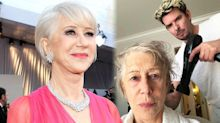 Helen Mirren praised for sharing 'before' photo ahead of Oscars transformation