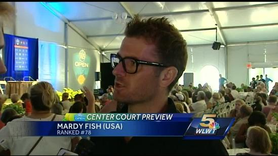 Ken Broo talks with Mardy Fish about the W&S tournament